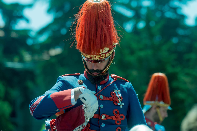 Bearded Spanish Royal guard