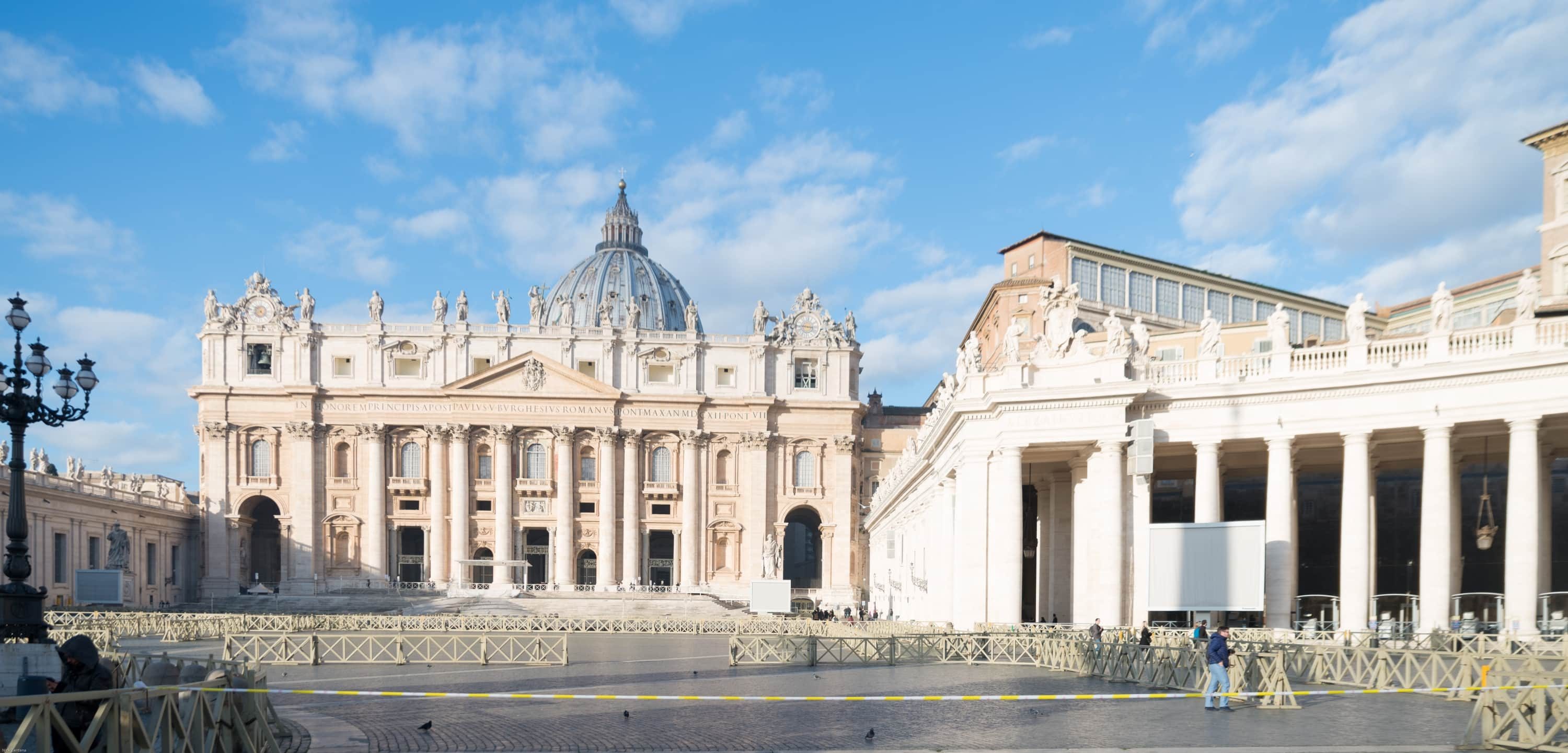 St. Peter's square and basilica