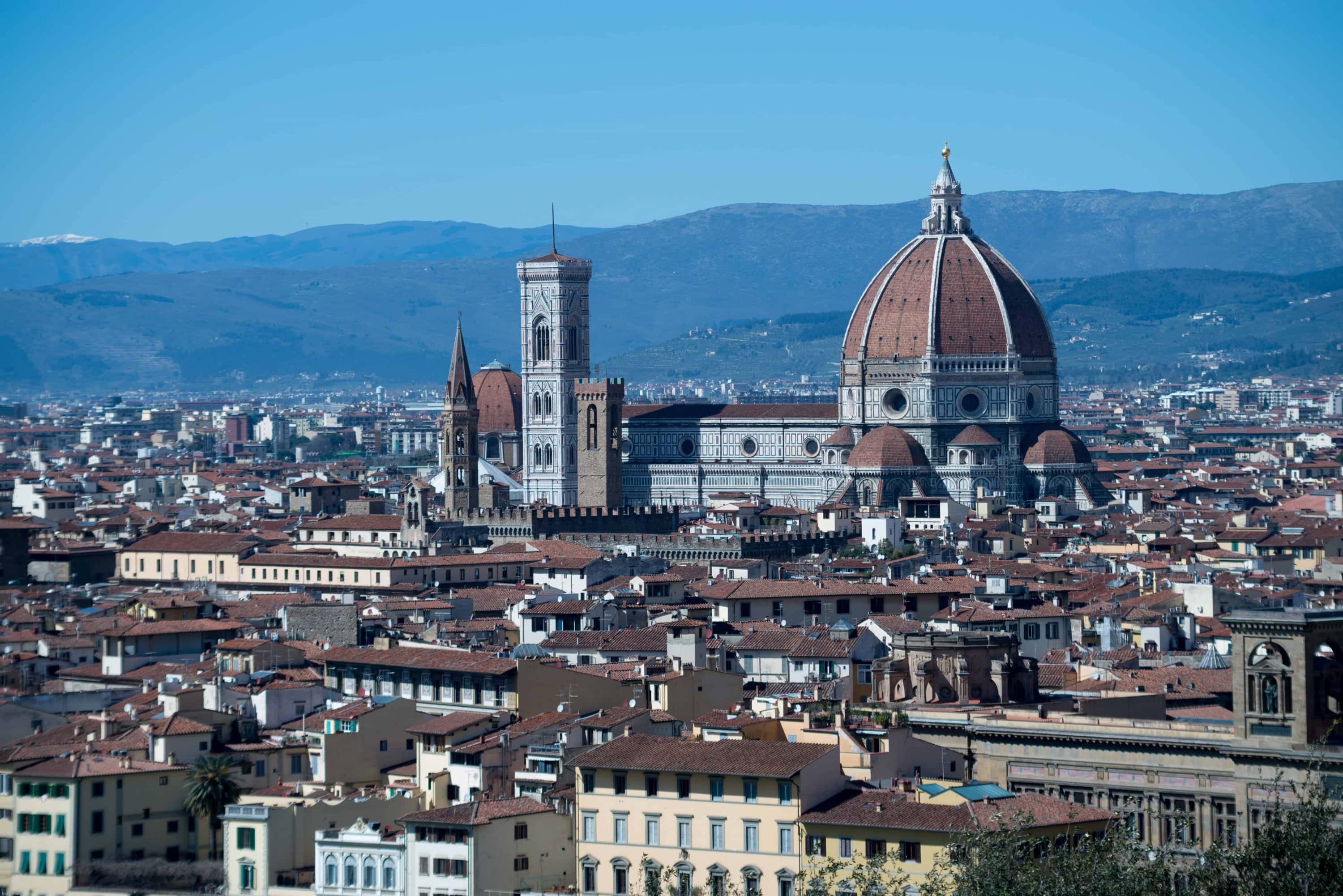 Florence seen from above