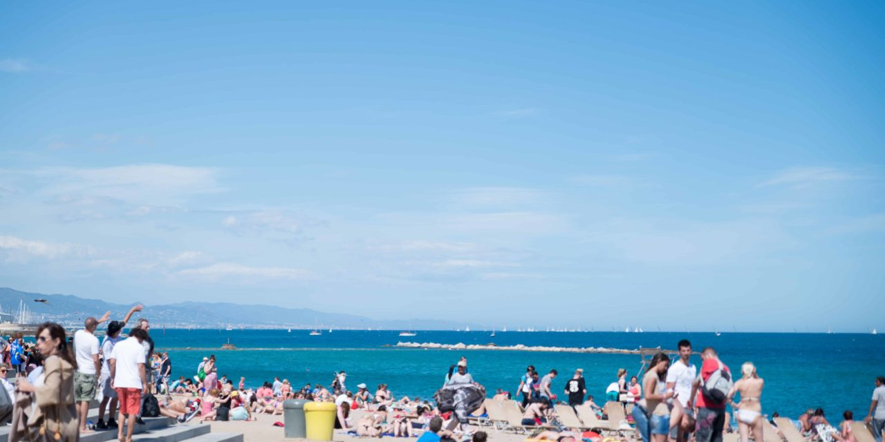 Beaches of Barcelona Spain