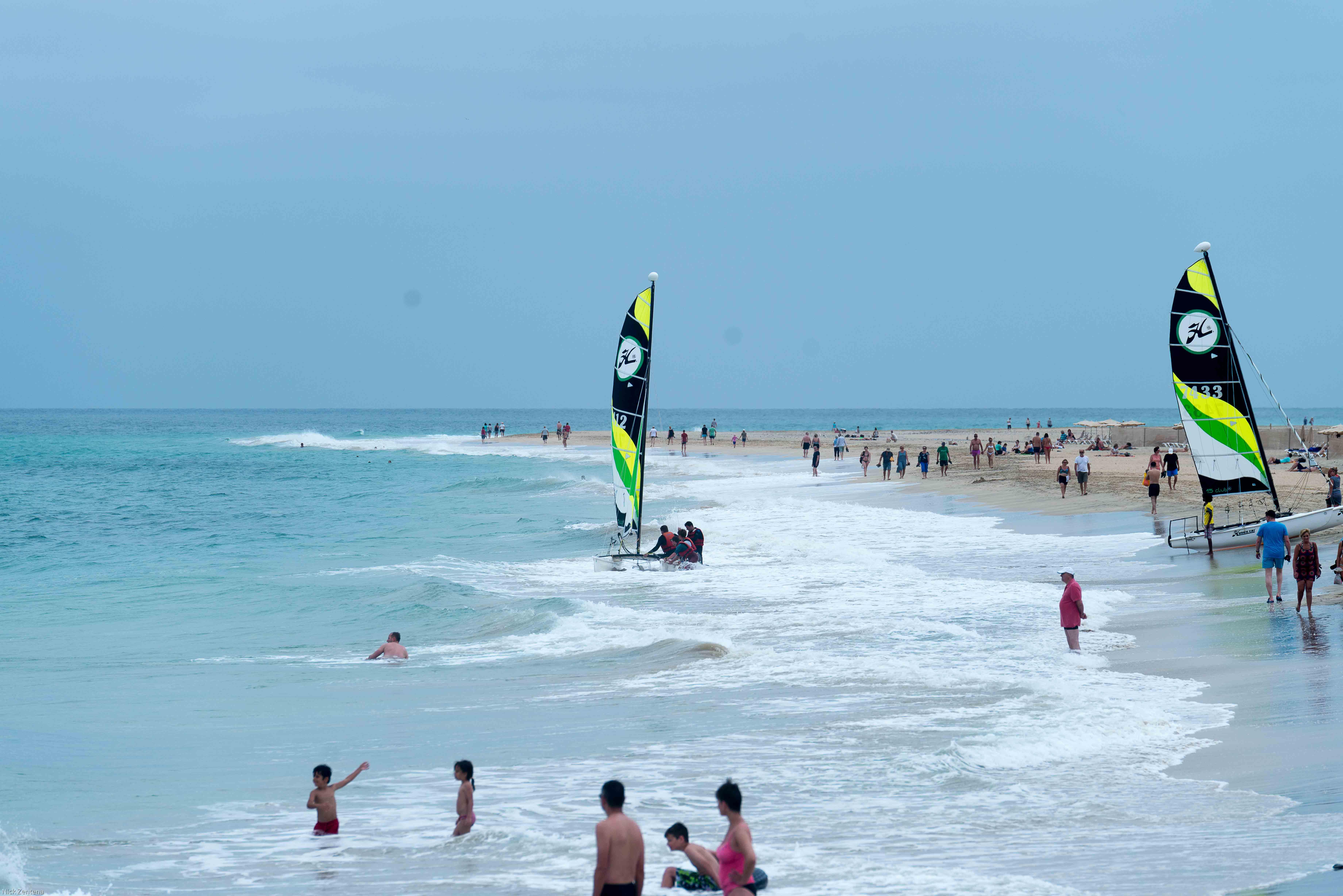 water sports on Playa del Matorral
