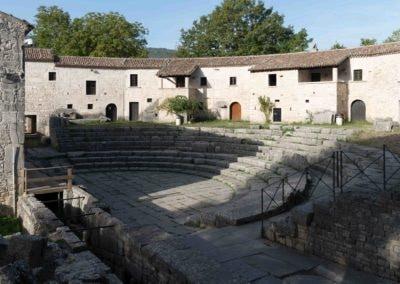 Altilia Saepinum theatre