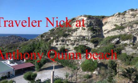 Anthony Quinn beach rhodes Greece 4k Anthony Quinn spiaggia rodi Grecia …