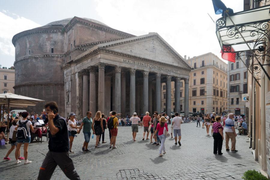 Pantheon angle view