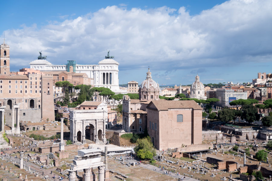 Rome on a sunny day